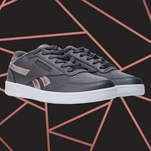 👟Rose Gold and Grey Reebok Club Sneakers👟
